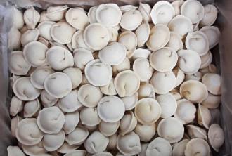 Dumplings Home Meat 5kg. in a box (hand sculpting)