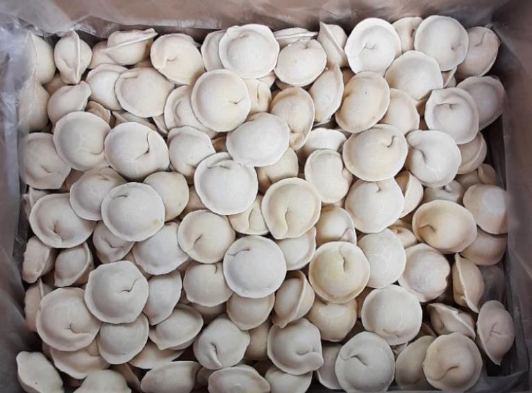 Siberian dumplings, 5kg. in a box (handmade)