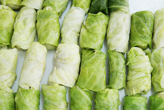 """Stuffed cabbage """"Vegetable"""" 5 kg. In the box"""